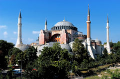 Hagia Sofia in Istanbul Royalty Free Stock Photos