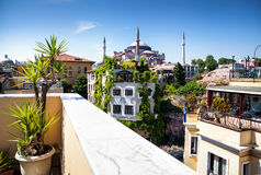 Hagia Sofia in Istanbul Royalty Free Stock Photo