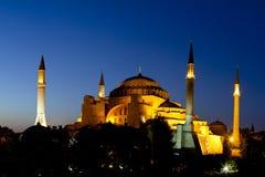 Hagia Sofia in Istanbul, die Türkei stockbilder