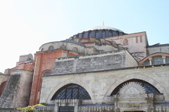 Hagia Sofia in Istanbul. Former church and mosque and current museum Hagia Sofia in Istanbul, Turkey Stock Photos