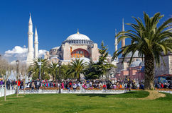 Hagia sofia istanbul Royalty Free Stock Photography