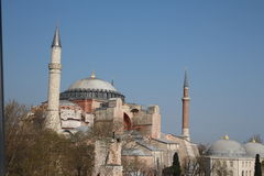 Hagia Sofia in Istanbul, Turkey Stock Photo