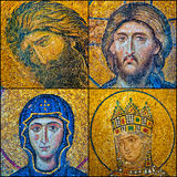 Hagia Sofia mosaics. The mosaics that adorn the hagia sofia mosque are indeed a work of art Stock Photography