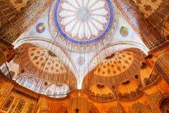 Hagia Sofia Mosque. Decorative interior of the Beautiful Hagia Sofia Mosque, Istanbul, Turkey Royalty Free Stock Photo
