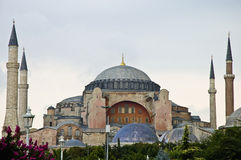 Hagia Sofia Mosque at Istanbul Royalty Free Stock Image