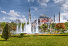 Hagia Sofia Mosque at Istanbul Royalty Free Stock Photo