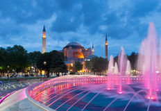 Hagia sofia mosque in istanbul Stock Photography