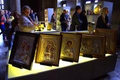 Hagia Sofia museum exposition Stock Images