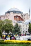 Hagia Sophia博物馆在伊斯坦布尔,土耳其 免版税库存图片