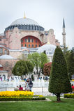 Hagia Sophia博物馆在伊斯坦布尔,土耳其 库存照片