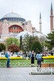 Hagia Sophia博物馆在伊斯坦布尔,土耳其 免版税库存照片