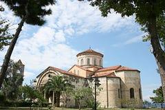Hagia Sophia博物馆, Trabzon,土耳其 免版税库存照片