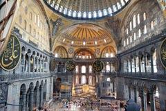 Hagia Sophia在伊斯坦布尔 免版税库存照片