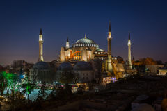 Hagia Sophia à Istanbul, Turquie Photos libres de droits