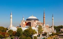 Hagia Sophia ενάντια στο μπλε ουρανό Στοκ εικόνες με δικαίωμα ελεύθερης χρήσης