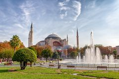 Hagia Sophia Ιστανμπούλ Στοκ φωτογραφία με δικαίωμα ελεύθερης χρήσης