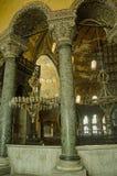 Hagia Sophia, внутреннее Стоковое Фото