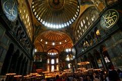 Hagia Sophia в Стамбуле Стоковое Изображение RF