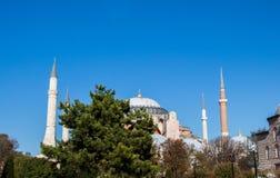 Hagia Sophia, памятник мира известный стоковое изображение