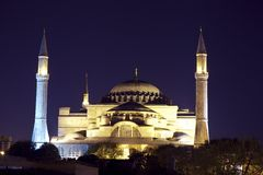 Aya Sophia в Стамбуле Турции Стоковое фото RF