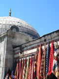 Hagia Sophia. And market in Istanbul royalty free stock photos