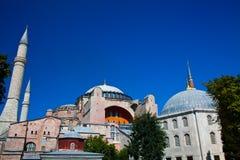Hagia Sophia 2. Hagia sophia in the istanbul city Stock Image