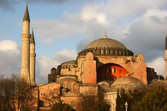 Hagia Sophia. In Istanbul, Turkey Stock Photos