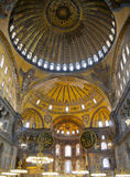 Hagia Sophia. Interior view of Hagia Sophia Museum, Istanbul, Turkey Stock Photography