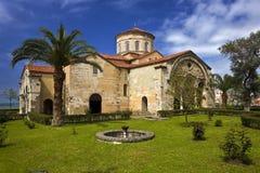 Hagia Sophia. Turkey. Trabzon. The church of Hagia Sophia (Greek Orthodox church, present day the Hagia Sophia Museum Royalty Free Stock Images