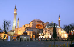Hagia Sophia,正统家长式大教堂,拉特银币 免版税库存图片