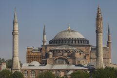 Hagia Sophia στοκ φωτογραφία με δικαίωμα ελεύθερης χρήσης