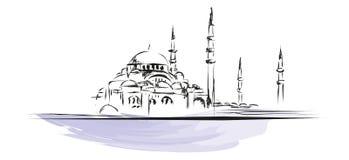 Hagia Sophia illustrazione vettoriale