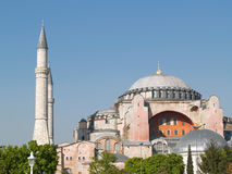 Hagia Sophia. The monument most famous of Istanbul - Turkey Royalty Free Stock Image