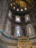 Hagia Sophia. Inside of Hagia Sophia, The monument most famous of Istanbul - Turkey Stock Image