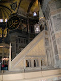 Hagia Sophia. Inside of Hagia Sophia, The monument most famous of Istanbul - Turkey Stock Photography