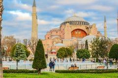Hagia Sophia Lizenzfreies Stockfoto