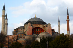 Hagia Sophia. In Istanbul, Turkey Royalty Free Stock Image
