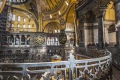 The Hagia Sophia (also called Hagia Sofia or Ayasofya) interior Stock Image