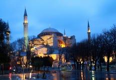 Free Hagia Sophia At Night, Istanbul. Royalty Free Stock Photos - 17858648