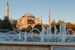 Hagia Sophia Ayasofya, Istanbuł, Turcja Zdjęcia Stock