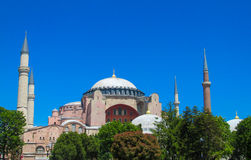 Hagia Sophia, Ayasofya in Istanbul, Turkey Stock Photography