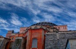 Hagia Sophia (Ayasofya) temple in Istanbul, Turkey Stock Photos