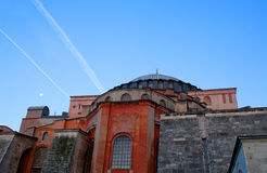 Hagia Sophia (Ayasofya) temple in Istanbul, Turkey Stock Photography