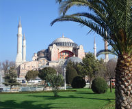 Hagia Sophia basilica Royalty Free Stock Photos