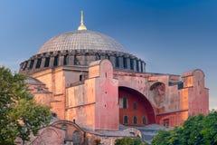 Hagia Sophia basilica in Istanbul Stock Image