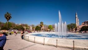 Hagia Sophia Brunnen stock video