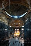Hagia Sophia cathedral in Istanbul Royalty Free Stock Image