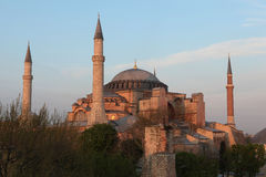 Hagia Sophia Church. In Istanbul,Turkey Stock Photo