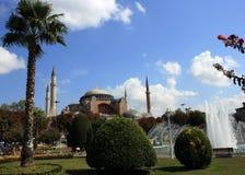 Hagia Sophia Church. In Istanbul,Turkey Stock Photography