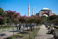 Hagia Sophia church. Royalty Free Stock Images
